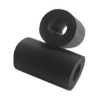 "7/8"" Black Rubber Post Sleeve"