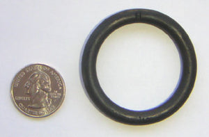 "1-1/2"" Black Rubber Ring"