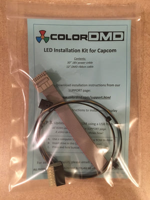 Cable kit for Capcom - Nitro Pinball Sales