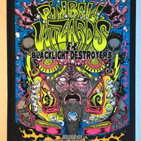 Dirty Donny Pinball Wizards & Blacklight Destroyers Book