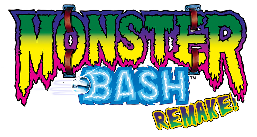 Monster Bash Remake High Def Color UPGRADE (FOR REMAKE ONLY) - Nitro Pinball Sales
