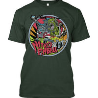 T-Shirt large logo Nitro Pinball designed by Dirty Donny - Nitro Pinball Sales