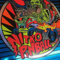 Nitro Pinball L.E. Poster Designed: by Dirty Donny - Nitro Pinball Sales