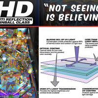 HD GLASS VOODOO WIDEBODY! - SET OF 2 Sheets!! - Nitro Pinball Sales