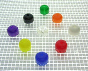 "Super-Bands 3/8"" OD Super-Bands™ Transparent Mini Post Rubbers - Nitro Pinball Sales"