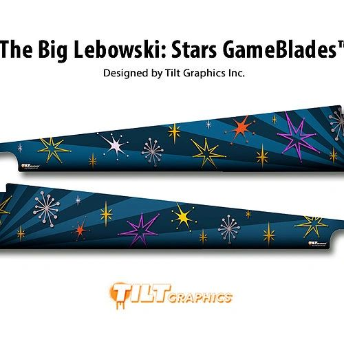 The Big Lebowski: Stars GameBlades™ - Nitro Pinball Sales