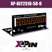 XP-BLY2518-58-O / CLASSIC BALLY/STERN 7-DIGIT DISPLAY: ORANGE