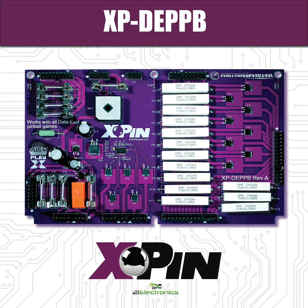 XP-DEPPB / DATA EAST PLAYFIELD POWER BOARD (PPB) DE/SEGA