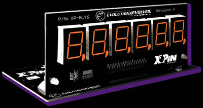 XP-BLY2518-21-Orange Bally/Stern 6 Digit Display