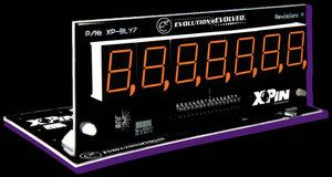 XP-BLY2518-58-White Bally/Stern 7-Digit Display