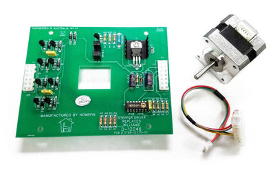 Homepin - Stepper Driver Board w/ Motor & Harness D-12046M