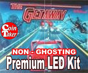 LED Premium Kit - Non Ghosting - THE GETAWAY - Nitro Pinball Sales