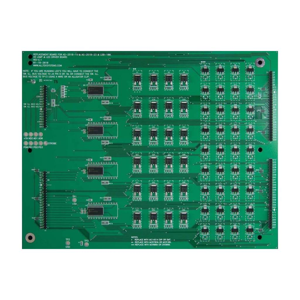 ALLTEK - Ultimate LED/Lamp Driver Board AS-2518-23 - Nitro Pinball Sales