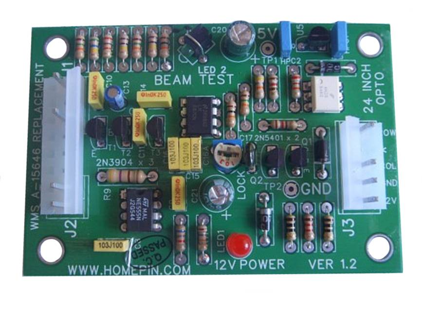Homepin - 24 Opto Replacement Board   A-15646 - Nitro Pinball Sales