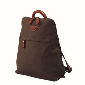 Jump Uppsala Flat Backpack chocolate
