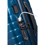 Samsonite Proxis Spinner 55 Expandable petrol blue