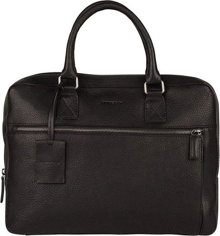 BURKELY Antique Avery Aktetas - 15,6 inch Laptoptas - Zwart