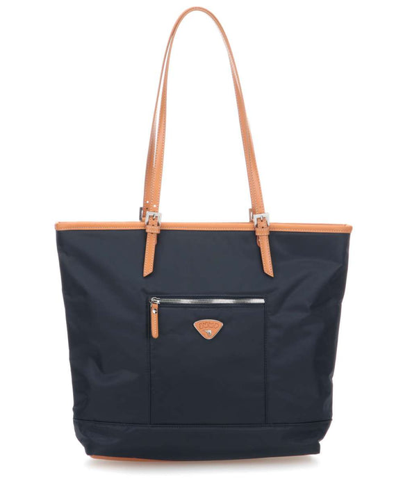 Cassis Riviera Soft Shopper nylon navy