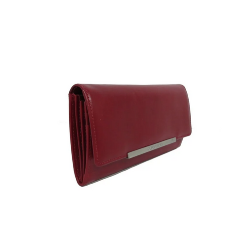 Claudio Ferrici Classico Purse red