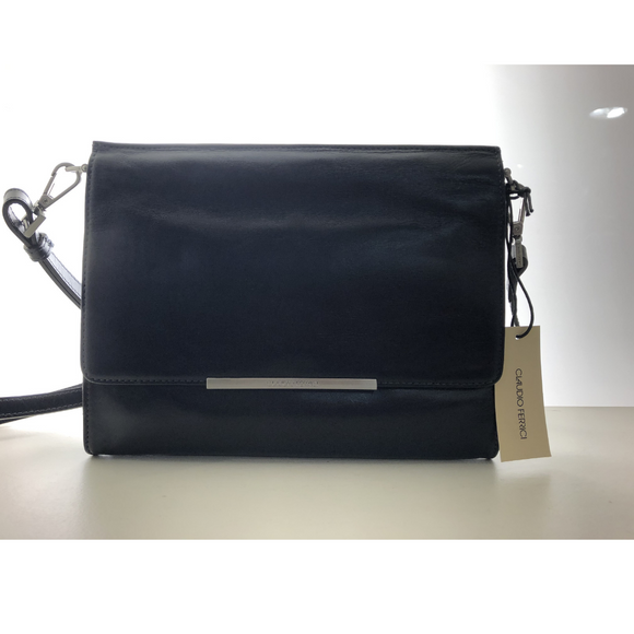 Claudio Ferrici schoudertas Bag navy