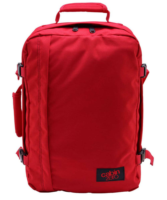 CabinZero Classic 36L Ultra Light Cabin Bag red sky