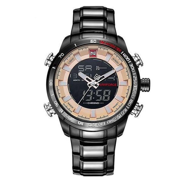 NAVIFORCE LUXURY® - Reloj digital - Analogico al Cuarzo