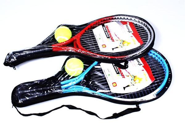 SET TENNIS REGAIL® - 2 Raquetas con Funda