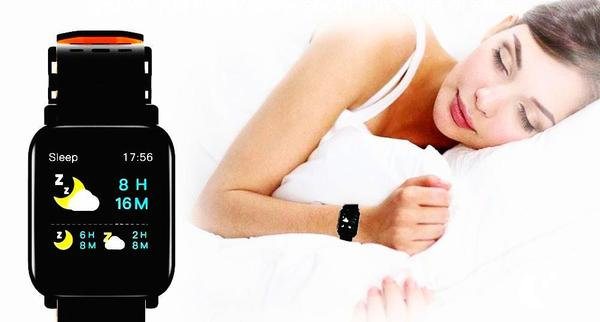 GreenTiger A6® para iPhone - Fitness Tracker Impermeable