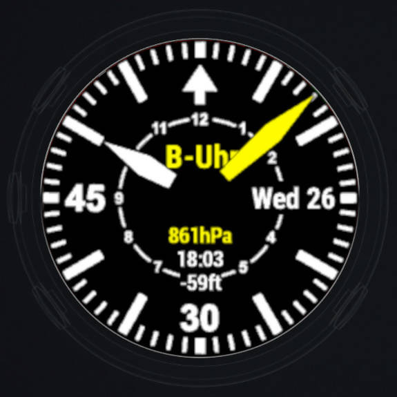 B-Uhr - Anti-Aliasing