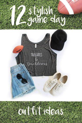 12 Stylish Game Day Outfit Ideas