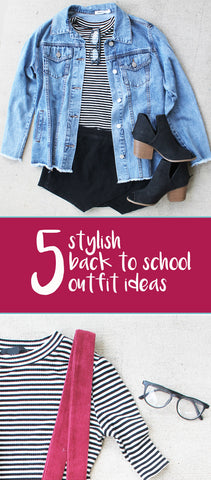 5 stylish back to school outfit ideas from 11th Thread