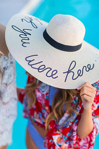 Floppy Hat: Wish you were here