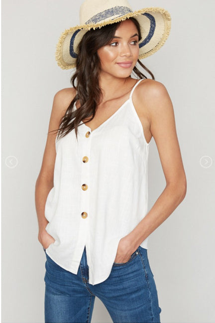 Bethany Button Up Tank