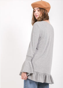 Heather Cozy Tee