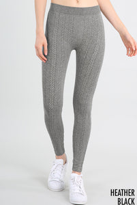 Cable Knit Leggings