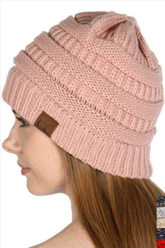 CC Beanie: Light Pink