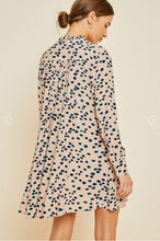 Watercolor Dot Dress