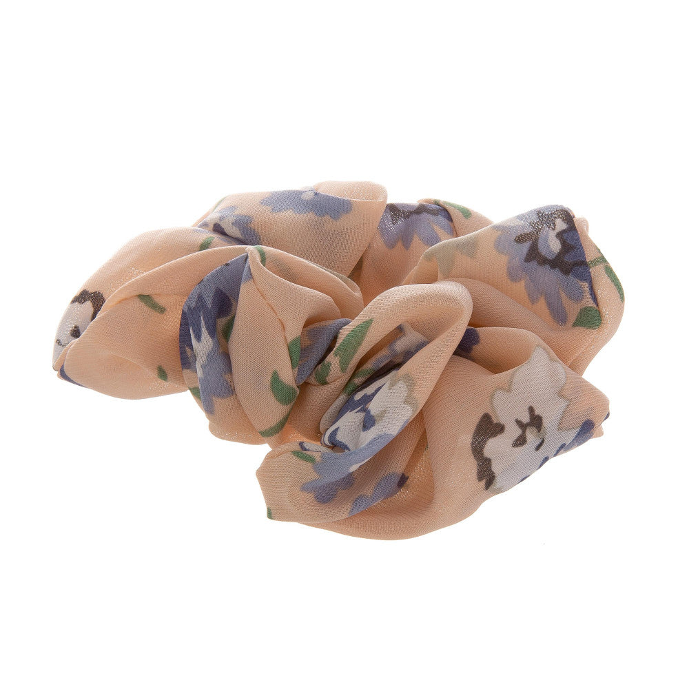 Blush Flower Scrunchie