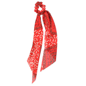 Red Scrunchie Scarf