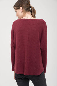 Cranberry Cozy Top