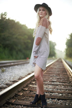 Stripes and Patches Dress
