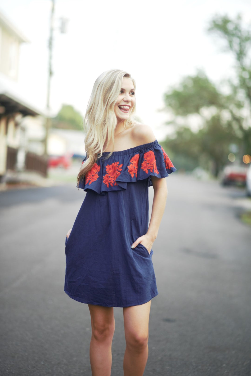 Gameday on the plains dress