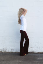 Red Velvet Bell Bottoms