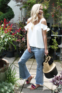 Fringe and Flare Jeans