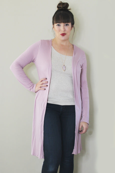 Everyday Cardigan: Rose