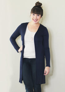 Everyday Cardigan: Navy