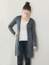 Everyday Cardigan: Grey