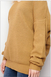 Cozy Caramel Sweater