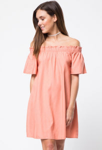 Coral Sunset Dress