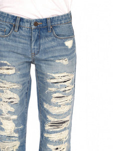 Blank NYC Distressed Boyfriend Jeans